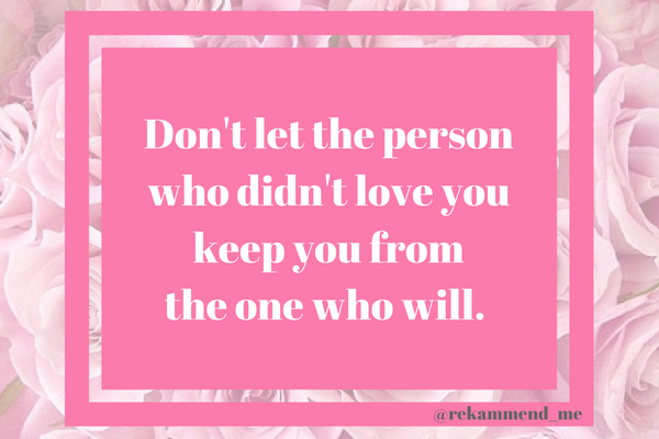 Don't let the person