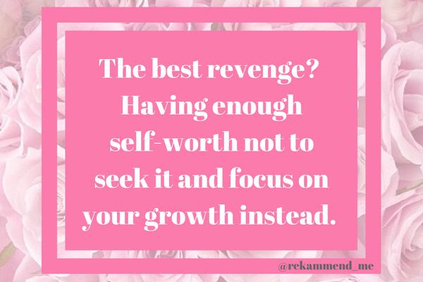 The best revenge_